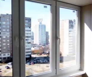 Балконная рама из ПВХ. Заславль. №1