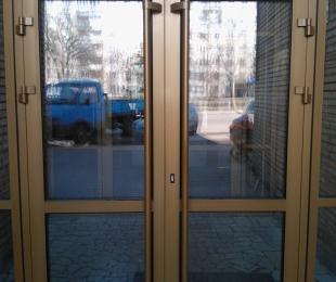 Двери ПВХ входные. №1