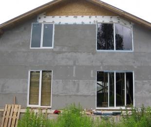 Пластиковые окна в частном доме. Заславль. №3