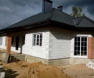 Пластиковые окна в частном доме. Заславль. №5-2