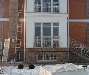 Пластиковые окна в частном доме. Заславль. №6
