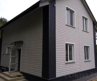 Пластиковые окна в доме. Заславль. №14