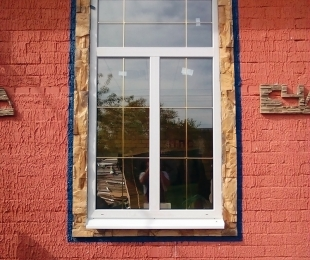 Пластиковые окна в частном доме. Заславль. №9