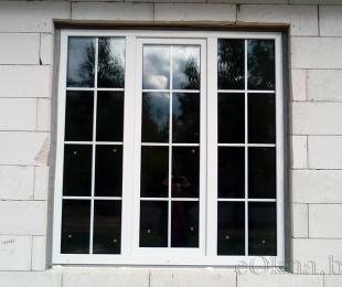Пластиковые окна в доме. Заславль. №10